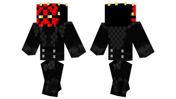 best Minecraft skins darth maul