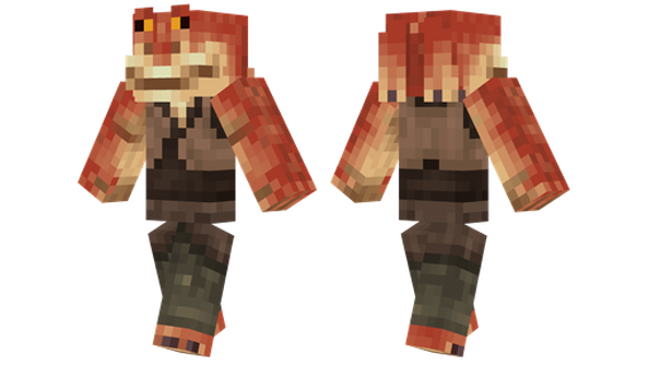 best Minecraft skins jar jar binks