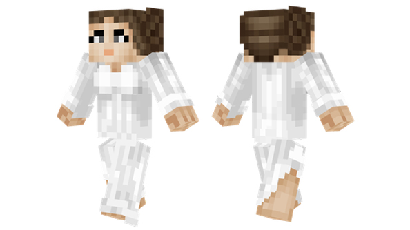 best minecraft skins Princess leia