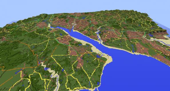 Southampton Water and environs.