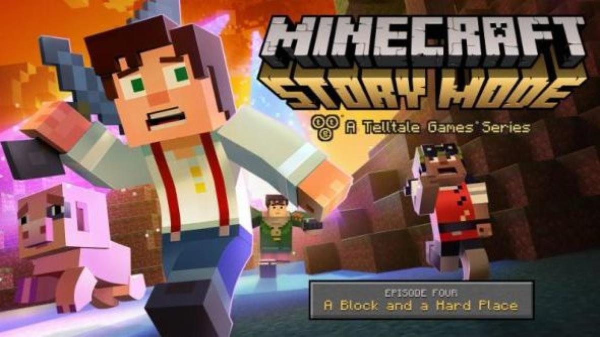 Minecraft Story Mode Episode 4 Will Finish The Wither Storm