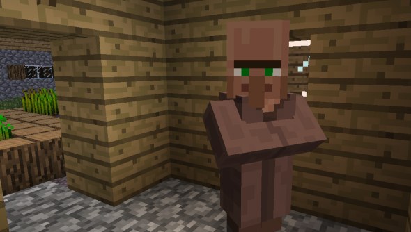Villagers: probably not responsible for the current CDN problems in Minecraft.