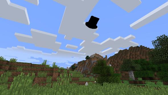 Minecraft fancy clouds