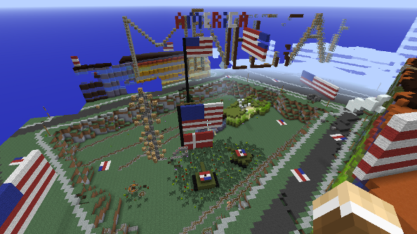 "Gamers are flattening Denmark in Minecraft. GeoData team to consider ""rebuilding Copenhagen"""