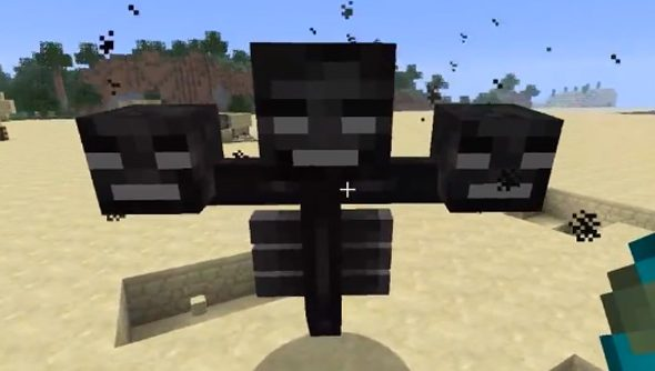 Creepy new monster coming to Minecraft: the Wither Boss | PCGamesN