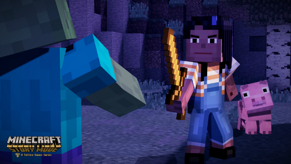 Minecraft: Story Mode will let you craft your character