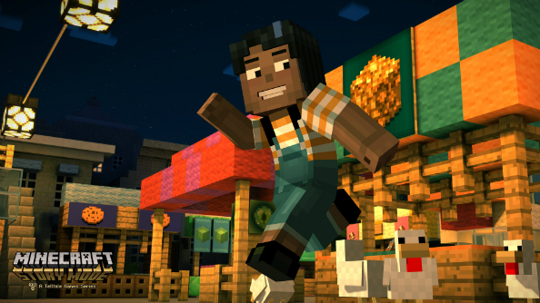 Minecraft: Story Mode trailer introduces Ender Dragon slayers The Order of the Stone