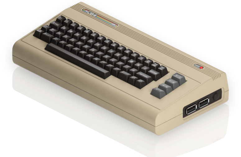 C64 mini side