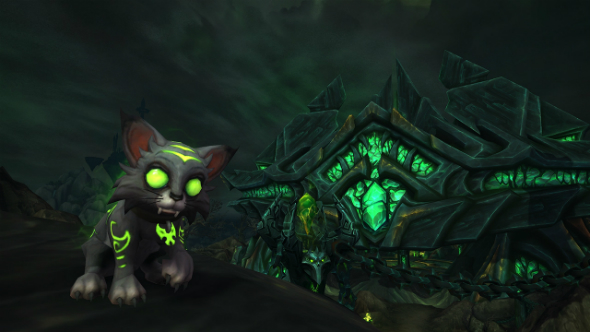 Donate to Make A Wish by adopting World of Warcraft's adorable Fel kitty this Christmas