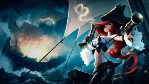The best AD carry champions League of Legends Miss Fortune