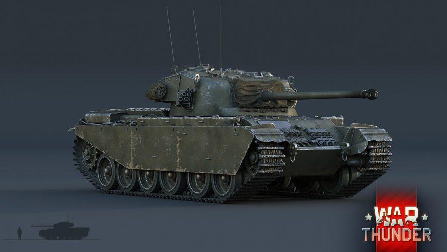 War Thunder Centurion Mk 1