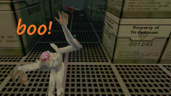 Monkeys system shock 2 scary games