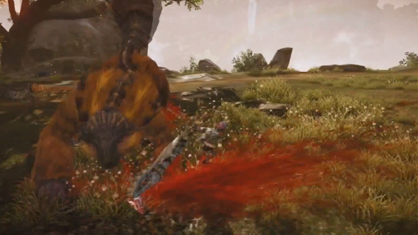 Monster Hunter Online trailer reveals the creatures are bulging with blood ready for the spurting