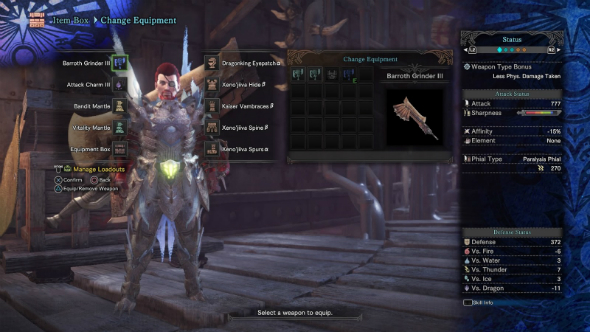 Monster Hunter World builds switch axe