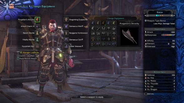 Monster Hunter World builds raw damage greatsword