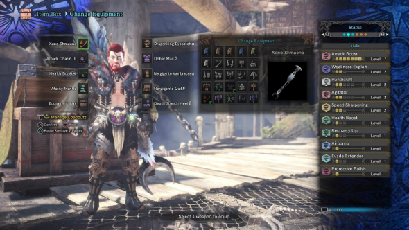 Monster Hunter World builds speed glaive