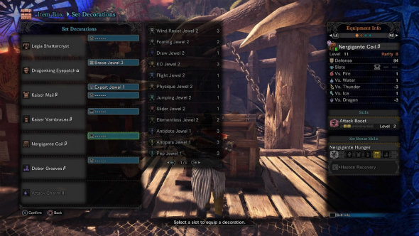 Monster Hunter World builds piercing shots