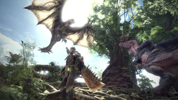 Monster Hunter: World gameplay