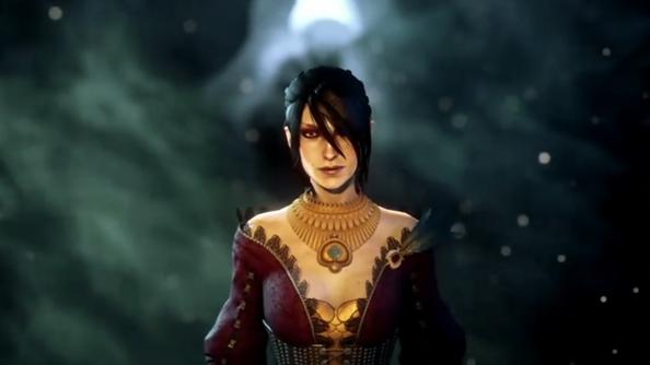 Longtime Dragon Age sidekick and morally-iffy mage, Morrigan.