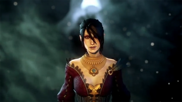 Longtime Dragon Age sidekick and morally-iffy mage, Morrigan.