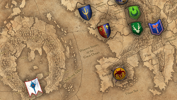Here S A Full View Of Total War Warhammer 2 S Combined Campaign Map