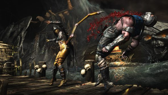 Mortal Kombat X: Hip happening.