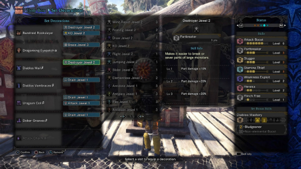 Monster Hunter World builds ko hunting horn
