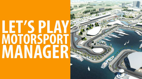 Motorsport manager let's play