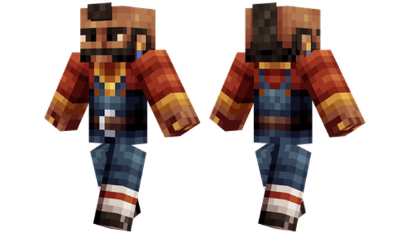 best minecraft skins Mr t