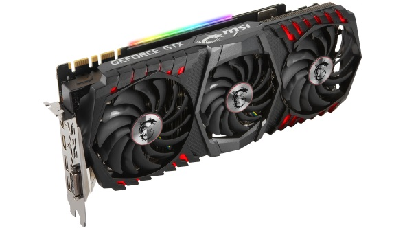 msi gtx 1080 ti gaming x trio review a silent lavishly. Black Bedroom Furniture Sets. Home Design Ideas