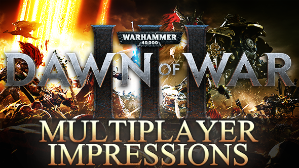 Wraithknight powerslides and custom armies: Dawn of War 3 multiplayer burns the RTS rulebook