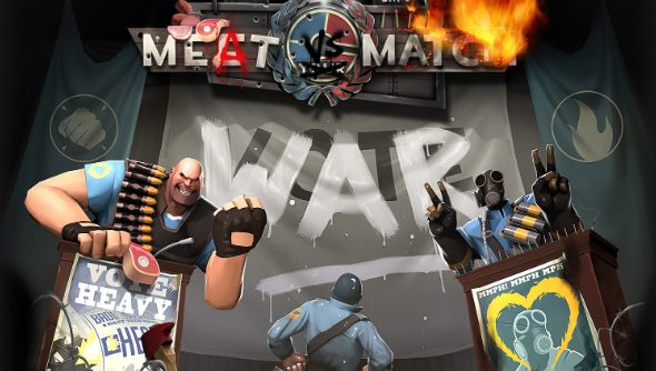 Team Fortress 2 Asks You To Choose Between Heavy And Pyro In Meat Vs