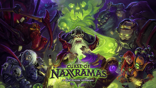 Hearthstone single-player mode will chuck players into the necropolis of Naxxramas