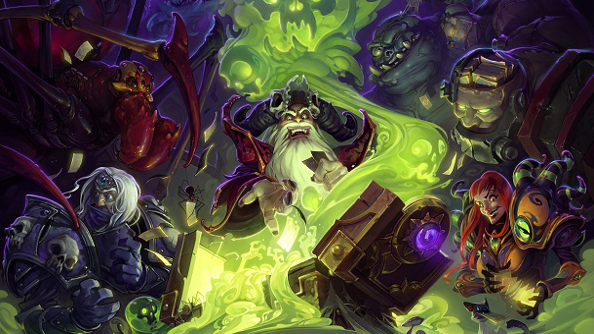 Hearthstone's Curse of Naxxramas adventure will be dealt onto the table next week