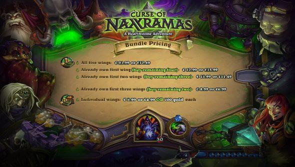 Curse of Naxxramas prices
