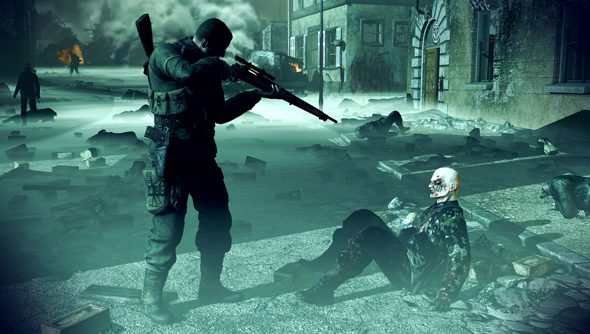 Nazi Zombie Army 2: not quite as open as Rebellion would like.