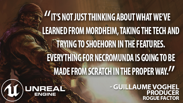 Necromunda: Underhive Wars Unreal Engine 4