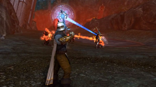 Neverwinter video introduces the Devoted Cleric class