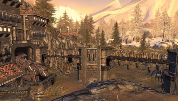 Snow covered the surface of Icewind Dale - but Black Isle managed to conjure a surprising variety of dungeon environments back in the day.