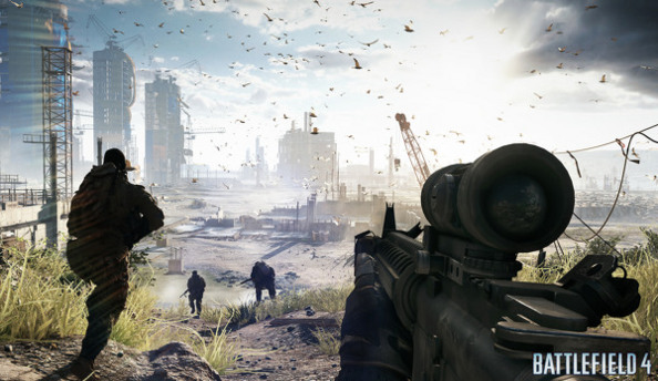 "Battlefield 4 developer DICE ""interested"" in eSports, removed co-op play"