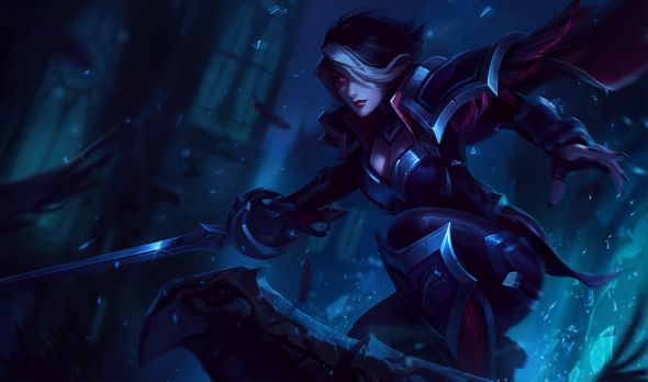 New Nightraven Fiora Splash Art