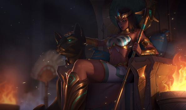 New Pharaoh Nidalee splash art