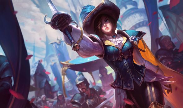 New Royal Guard Fiora Splash Art