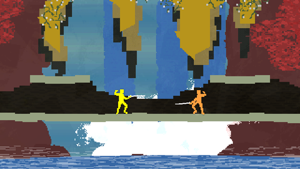 Nidhogg finally brings its brand of nasty fencing to Steam on January 13