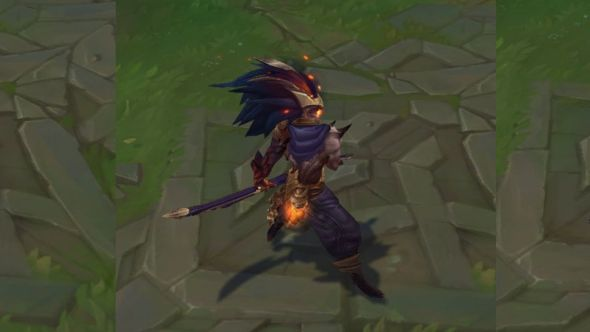 Nightbringer Yasuo in-game