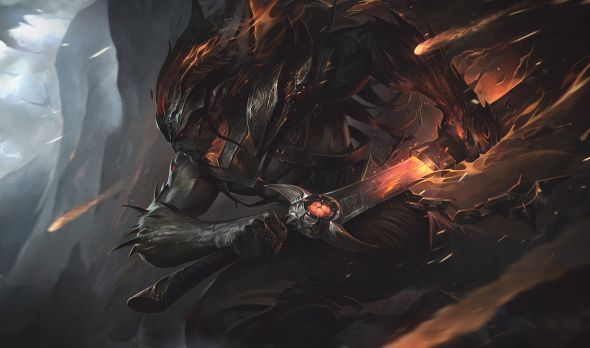 Nightbringer Yasuo Splash Art