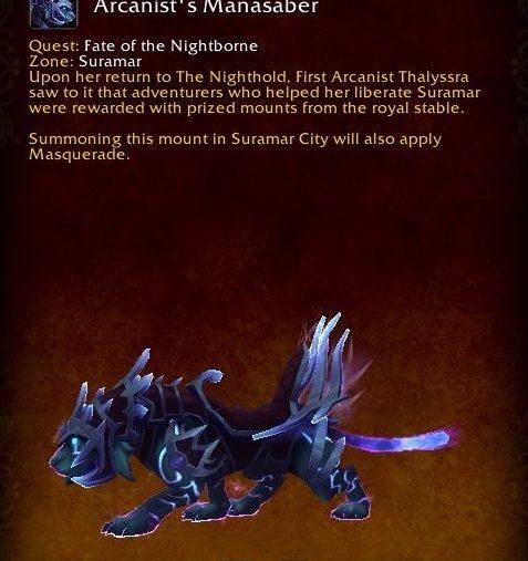 Nighthold mount
