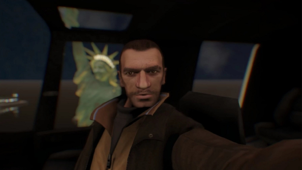 Grand Theft Auto IV gets infected with selfies