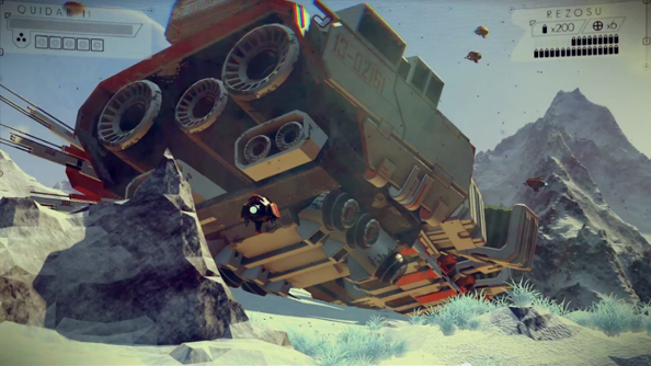 No Man's Sky is a wildly ambitious procedurally generated space MMO from the makers of Joe Danger