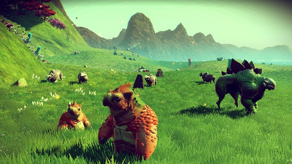 Did your playthrough of No Man's Sky look like this?